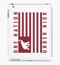 One Nation Under Nick iPad Case/Skin