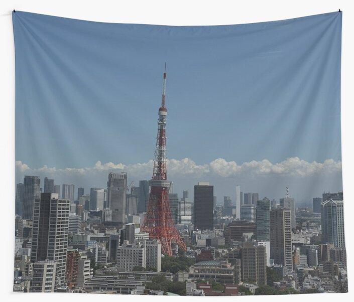 Tokyo Japan Skyline by prodesigner2