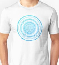 Quaking Aspen – Blue Ombré Tree Rings T-Shirt