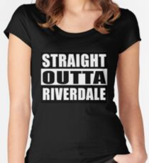 Straight Outta Riverdale Women's Fitted Scoop T-Shirt