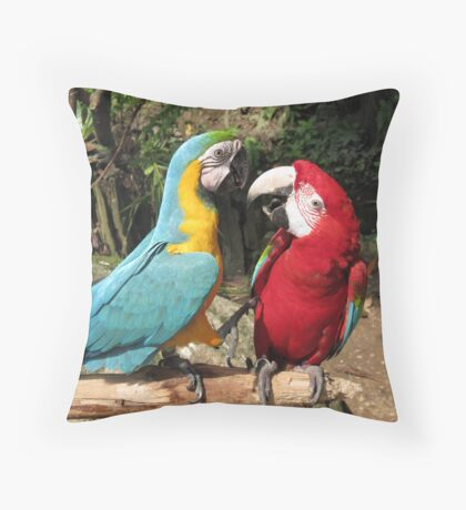 It's like this mate Throw Pillow