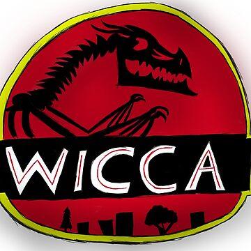 Wicca(Jurassic Park logo) by BlackSkull13