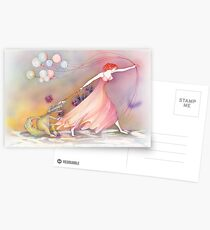 Party Girl Postcards