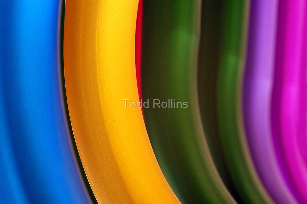 Red Between The Lines. by Todd Rollins