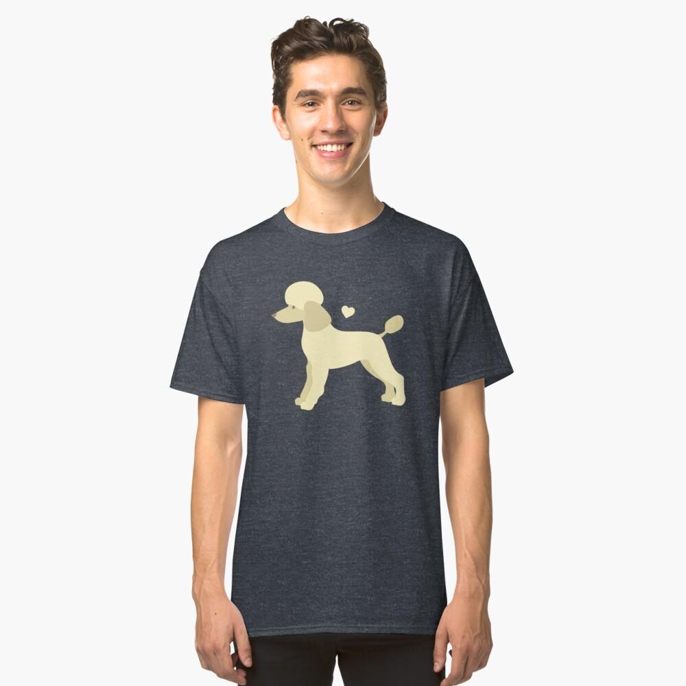 Poodle Dog Classic T-Shirt Front