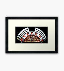 Classics Passion 008 Mercury Emblem Framed Print