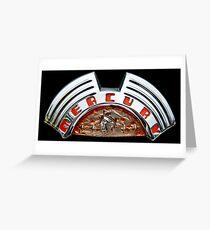 Classics Passion 008 Mercury Emblem Greeting Card