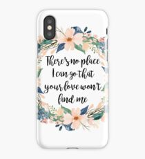 you don't miss a thing bethel iPhone Case