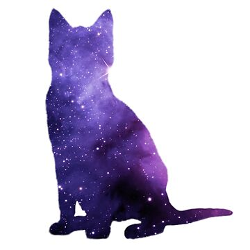 Galaxy Cat  by Molly-Winters