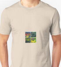 4 Elements: Earth Air Fire Water T-Shirt