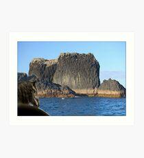 888A-Big Rock Art Print