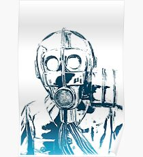 Gas Mask Anthem Poster