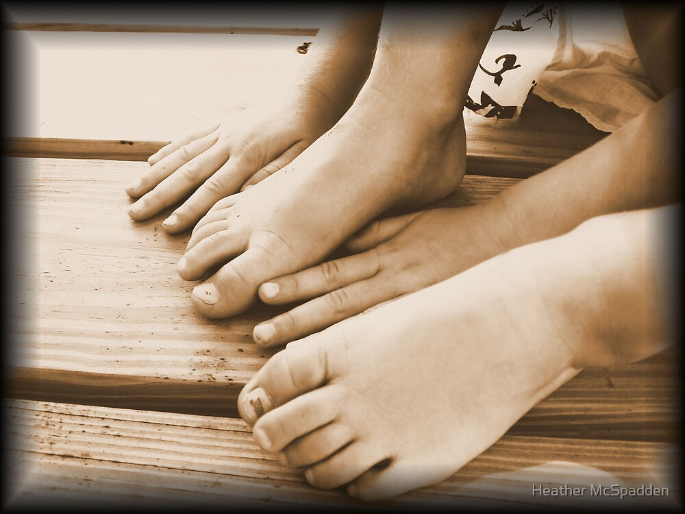 hands and feet by Heather McSpadden