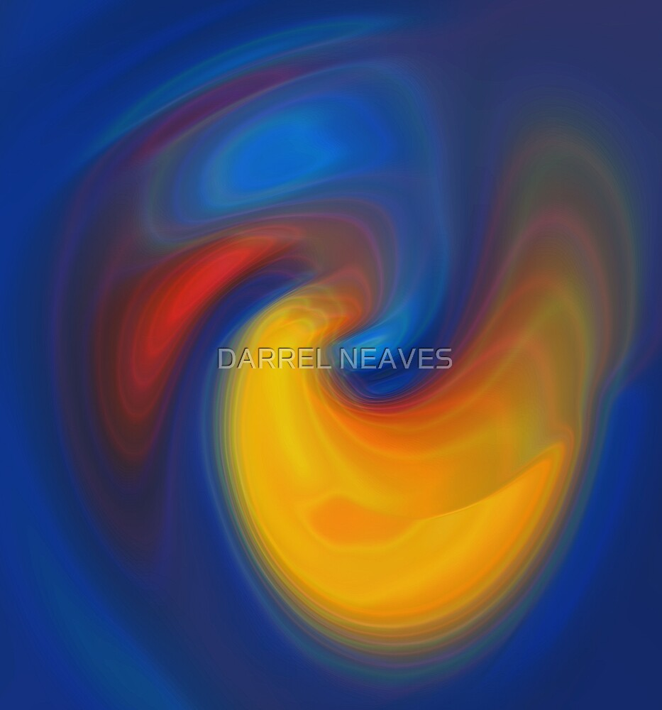abstractions flamingo by DARREL NEAVES