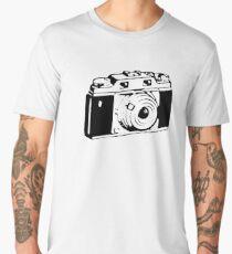 Retro Camera - Photographer T-Shirt Sticker Men's Premium T-Shirt