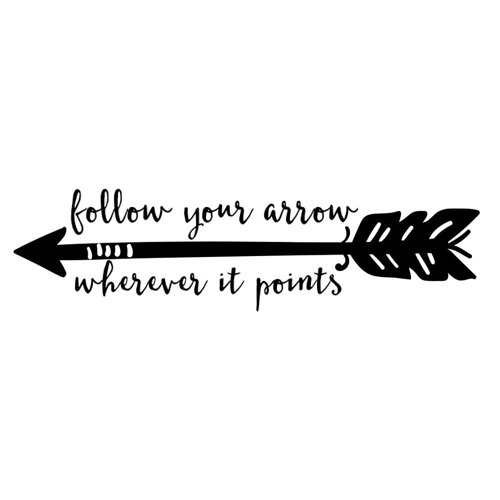 Follow your arrow  by emmanne03