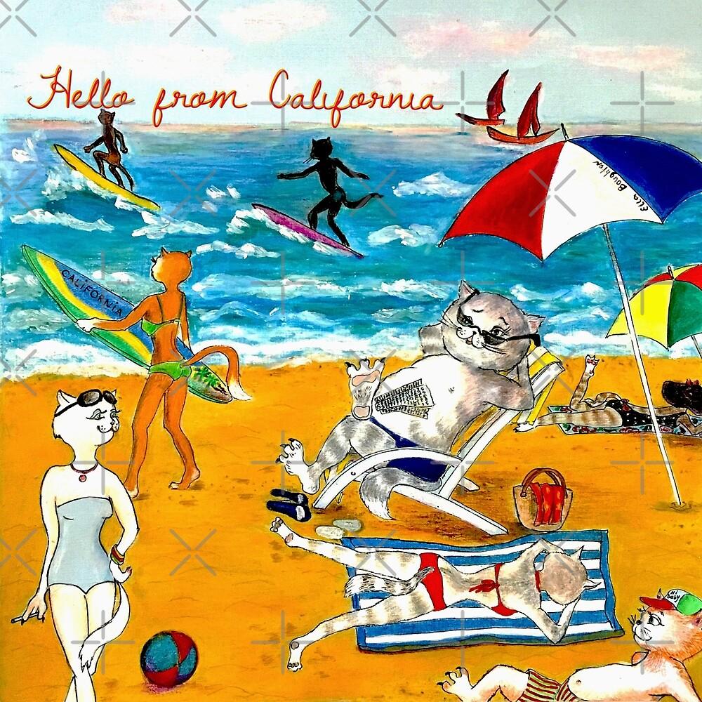 Hello, California by EllaBoughton