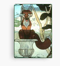 """You Sly Devil, You..."" Canvas Print"
