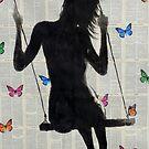 butterfly swing by Loui  Jover