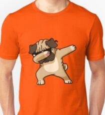 Dabbing Pug Funny - Dog Lovers T-Shirt