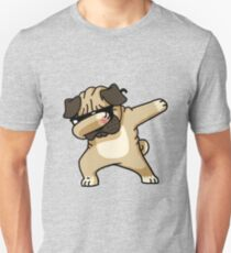 Dabbing Pug Funny - Dog Lovers T-Shirt
