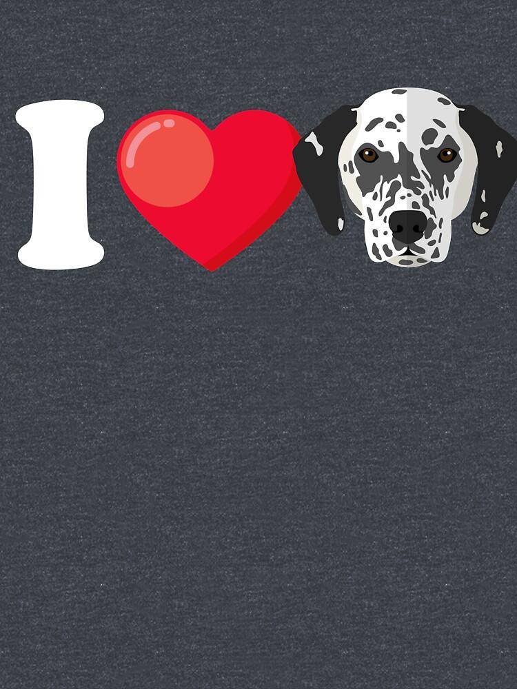 I Love Dalmatians by Phoenix23