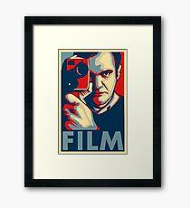 "Quentin Tarantino ""Film"" Poster Framed Print"
