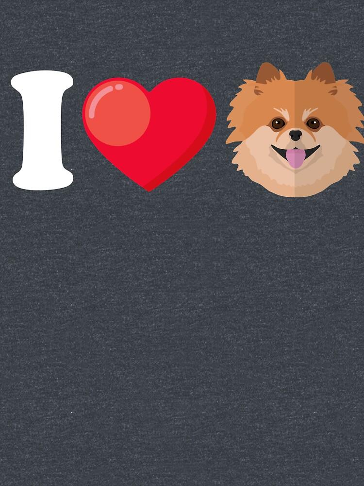I Love Pomeranian by Phoenix23