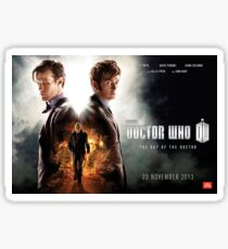 Doctor Who – The Day of the Doctor Poster Sticker