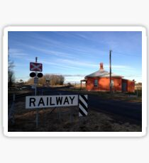 Barleyfields Level Crossing & Gatekeeper's Cottage, Uralla Sticker