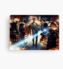 Doctor Who – The Doctor and Amy Pond Canvas Print