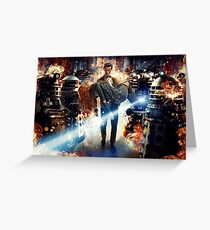 Doctor Who – The Doctor and Amy Pond Greeting Card