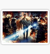 Doctor Who – The Doctor and Amy Pond Sticker