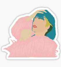 Halsey badlands iconic pink jacket Sticker
