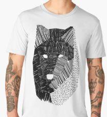 Wolf Mask Men's Premium T-Shirt