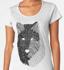 Wolf Mask Women's Premium T-Shirt
