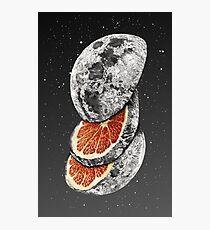 Mondfrucht Fotodruck