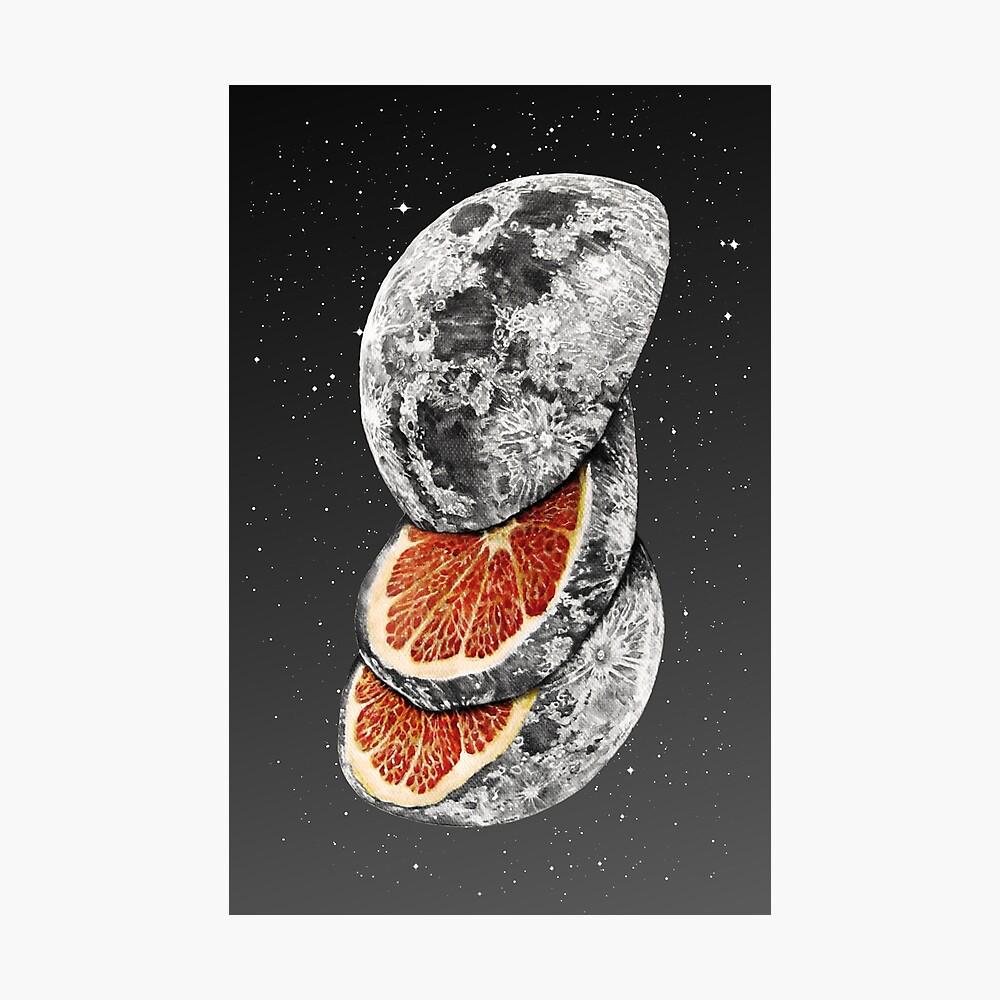 LUNAR FRUIT Photographic Print