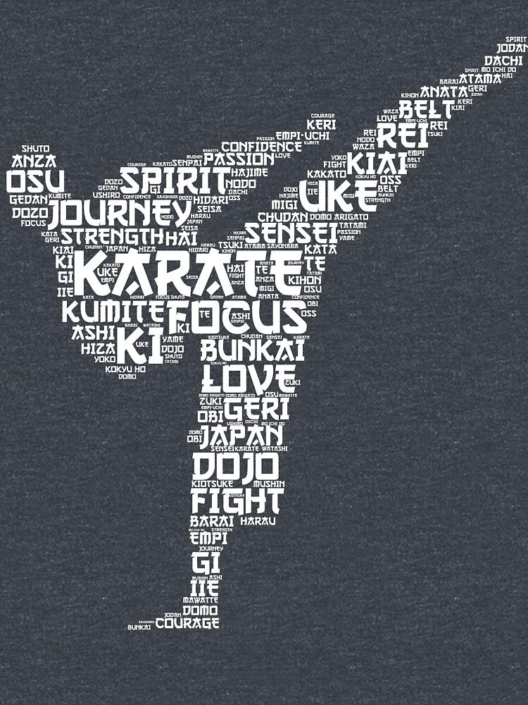 Karate Words by Phoenix23
