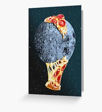 When the moon hits your eye... Greeting Card