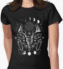 Crystal Moon. Women's Fitted T-Shirt