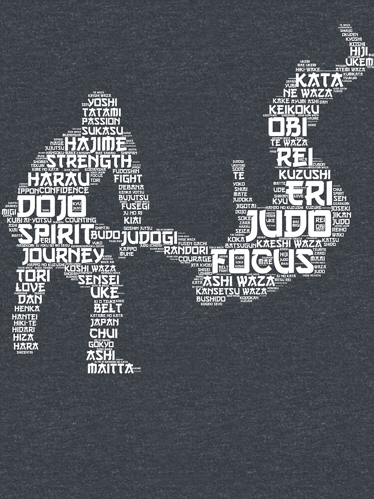 Judo Words by Phoenix23