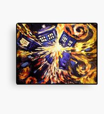 Doctor Who – Vincent van Gogh's Tardis Canvas Print