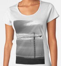 Construction Crane Women's Premium T-Shirt