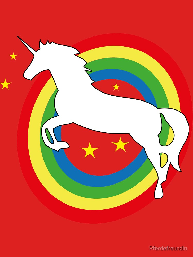 Epic Combo - Unicorn on a Rainbow by Pferdefreundin