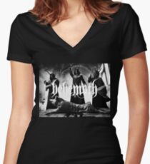 the satanist Women's Fitted V-Neck T-Shirt