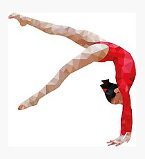 Poly Gymnast Photographic Print