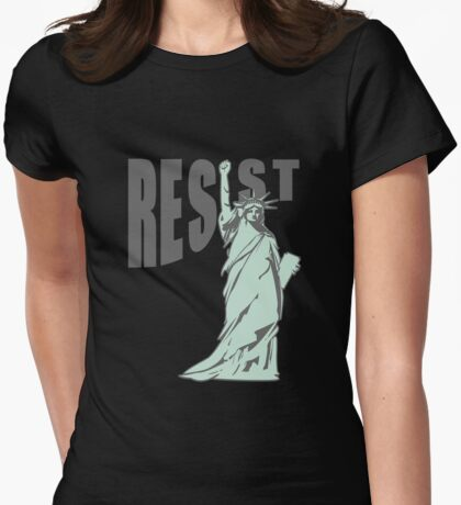 Lady Liberty Resist T-Shirt