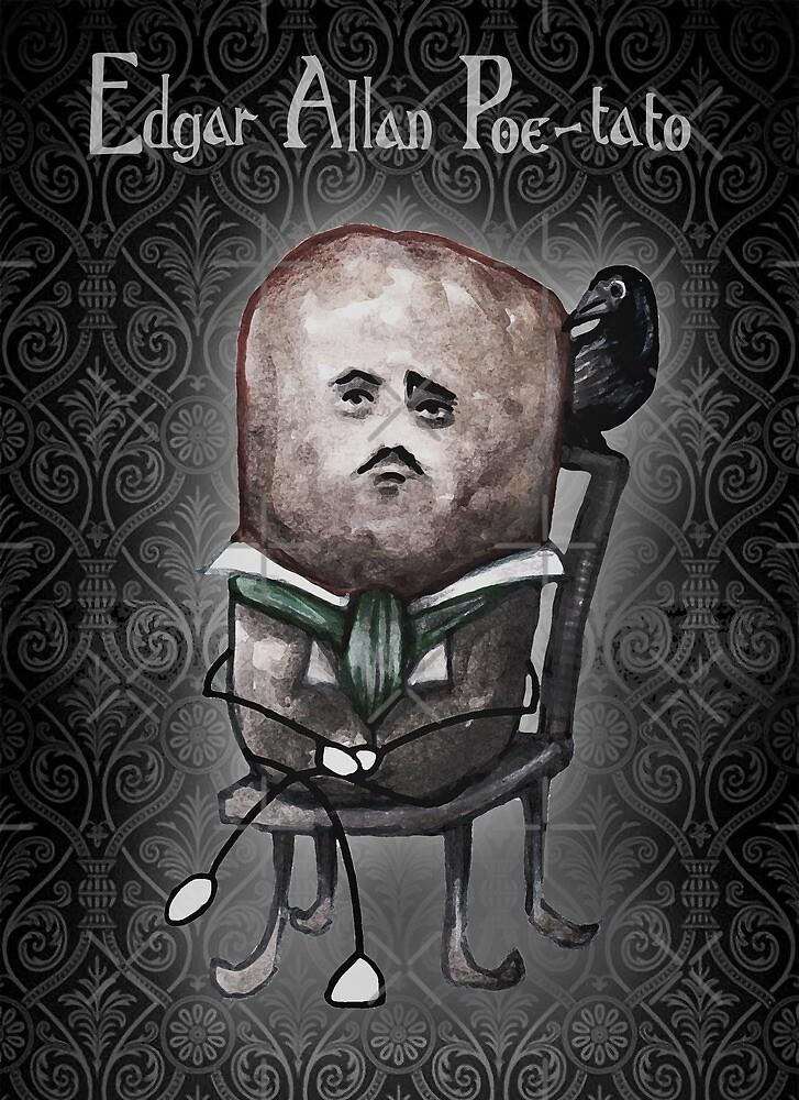 Edgar Allan Poe-tato by Tom Parker