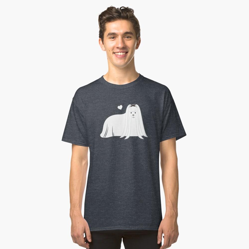 Maltese Dog Classic T-Shirt Front